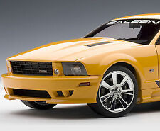 AUTOART 1/18 FORD MUSTANG SALEEN S281 SUPERCHARGED ORANGE 73056