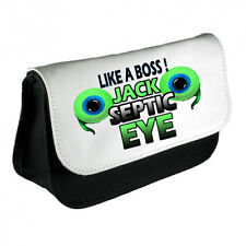 JACKSEPTICEYE TWO EYE  PENCIL CASE PERFECT FOR SCHOOL HOME LIKE A BOSS