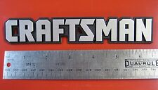 "Craftsman Tool Box Badge:6 5/8"",Chest/Cabinet/Toolbox Emblem,Decal,Sticker,Logo"