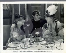 VINTAGE PHOTO 1933 Andy Devine The Cohens and Kellys in Trouble Universal Studio