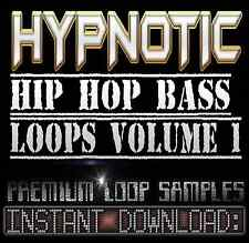 Hypnotic Hip Hop Soul BASS Sound Wav Sample Loops-Reason,Fl Studio,Ableton,Akai