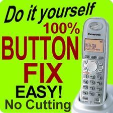 100% Panasonic Cordless Phone Keypad Button Fix KX-TGA430b KX-TGA431 KX-TGA931T