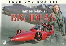 JAMES MAY'S BIG IDEAS - 4 DVD BOX SET MAN VS MACHINE +MORE James May Collection