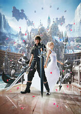 "Hot Final Fantasy XV FF 15 New RPG Art Game 19""x14"" Poster"