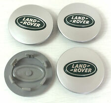 x4 LAND ROVER Alloy Wheel Badge Center HUB Caps 63mm DISCOVERY FREELANDER GREEN