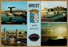 Cpsm / Cpm Brest - port tour tanguy château pointe du Minou wn0286