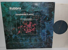 SRCS.127 Rubbra Symphonies 6 And 8 Philharmonia Orchestra Norman Del Mar