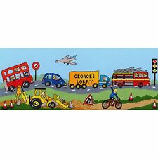 BOTHY THREADS WHEELY FUN CROSS STITCH KIT PERSONALISE LORRY WITH NAME