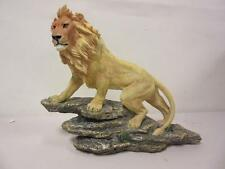 "Giftco International 12"" Perched Lion Artist Resin Item No. 38617 Figurine"