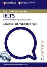 Speaking Test Preparation Pack for IELTS Paperback with DVD, Cambridge ESOL, Ver
