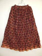 HANDMADE INDIAN TRADITIONAL VINTAGE HIPPY BOLLYWOOD TRADITIONAL LONG SKIRT MAXI