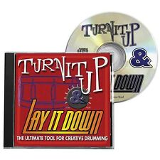 Turn It Up & Lay It Down Learn to Play Rock Funk Drum Practice Playalong CD 1