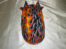 Harley Toms Flames Scuba Diving Doo Rag Headwrap Do Rag  Skullcap Bandana
