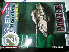 ¤¤ Revue 2e Guerre Mondiale Materiel n°1 Panzer Panzerwaffe Profils couleur