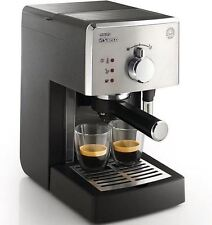 Philips Saeco Manual Espresso Machine with pressurized crema filter HD8325
