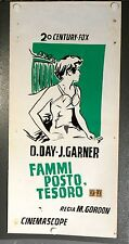 Fammi Posto Tesoro locandina poster James Garner Doris Day Move Over Darling