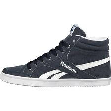 REEBOK WOMENS ROYAL ASPIRE HI-TOPS INDIGO/WHITE/PURPLE/ROYAL - SIZE 3 - BNIB