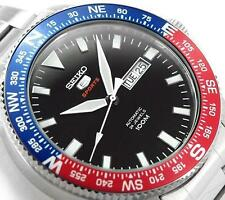 NEW! Seiko 5 Sports AUTOMATIC/HAND WINDING COMPASS (SRP661K1) WR100 'Pepsi' 4R36