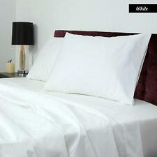 1000 TC White solid pillow cover egyptian cotton Queen size