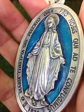 Llavero De Medalla  Imagen De La Virgen Maria/ Virgin Mary Medal Key Chain