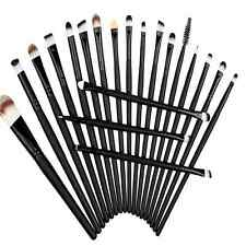20Pcs Hot Makeup Powder Foundation Eyeshadow Eyeliner Lip Cosmetic Brushes Set