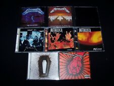 CD Metallica 10 Metal lot CDs Discs Kill Em Lightning Puppets Black + MINT CASES