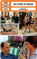 FICHE CINEMA : UNE FEMME DE MENAGE - Bacri,Dequenne,Berri 2002 The House Keeper