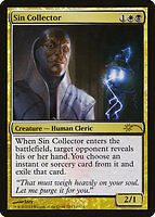 MTG SIN COLLECTOR FOIL EXC - ESATTORE DI PECCATI - FNM - MAGIC