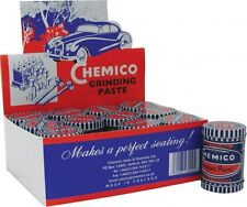 12 x Chemico Valve Grinding Paste 100g Fine Coarse Grade in One Double Ended Tin