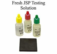3 Gold Testing Acid Jewelry Test Kit & Scratch Stone 10k 14k 18k