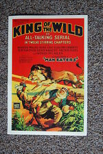 King of the Wild Lobby Card Movie Poster Chapter 1 Man Eater