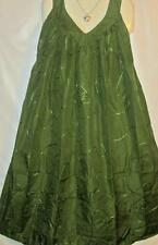 Plus Size Green Dress Mumu Style Sz 3X 4X Advance Free Shipping to US