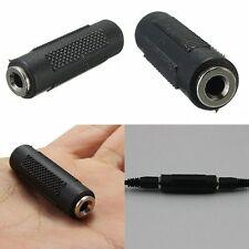 3.5mm to 3.5mm stereo jack coupler female to female adaptador de audio
