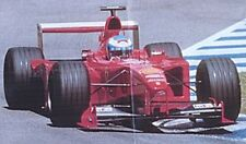 kit FERRARI F399 GP GERMANIA 1999 1° E.IRVINE Tameo TMK278