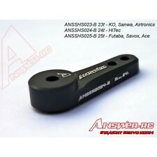 Ansshs023-b 23t answer-rc Recto Servo Cuerno Negro