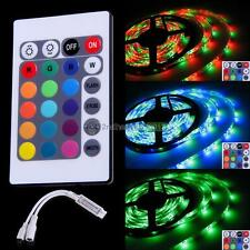 NEW Change Color LED Light Strip +24 Key IR Remote Controller For RGB 3528 5050