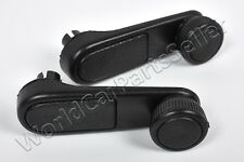 PEUGEOT 206 1998-2003 Window Winder Black Crank Door Handles PAIR LH + RH