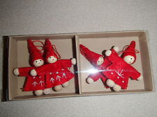 Scandinavian Swedish Norwegian Danish Christmas Elf Gnome Ornaments  #873