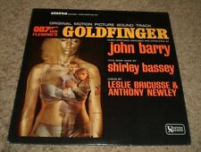 Goldfinger Original Soundtrack John Barry~James Bond~Shirley Bassey~FAST SHIP!!!