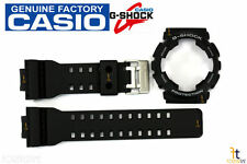 CASIO GA-100-1A4 G-Shock Original Black BAND & BEZEL Combo GA-100