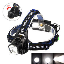 5000Lm Zoomable XML T6 LED Headlamp Headlight Light Head Fishing 18650 Lamp Zoom