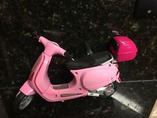 Barbie Pink Vespa Motor Scooter See Pictures