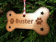 Personalised Dog Memorial Christmas Tree Decoration Ornaments Memorials