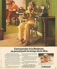 Publicité 1974  LA REDOUTE vente par correspondance