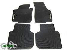2012-2016 VW Volkswagen Passat NAR Rubber Monster Floor Mats Set GENUINE OEM NEW