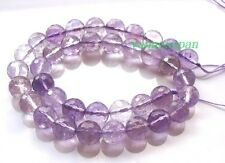Natural light Ametrine Faceted Round Beads 8mm 15""