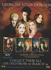 The Best Of Buffy Slayer Collection 2004 Magazine Advert #7763