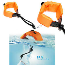 Floating Foam Wrist Arm Strap for Waterproof DC Camera Afloat Olympus Orange
