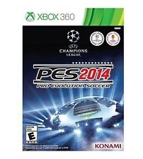 Pro Evolution Soccer 2014 PES Xbox 360 EXCELLENT CONDITION SHIPS NEXT DAY