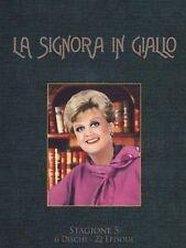 Dvd LA SIGNORA IN GIALLO - Stagione 5 (Box 6 Dvd) Serie Tv .....NUOVO